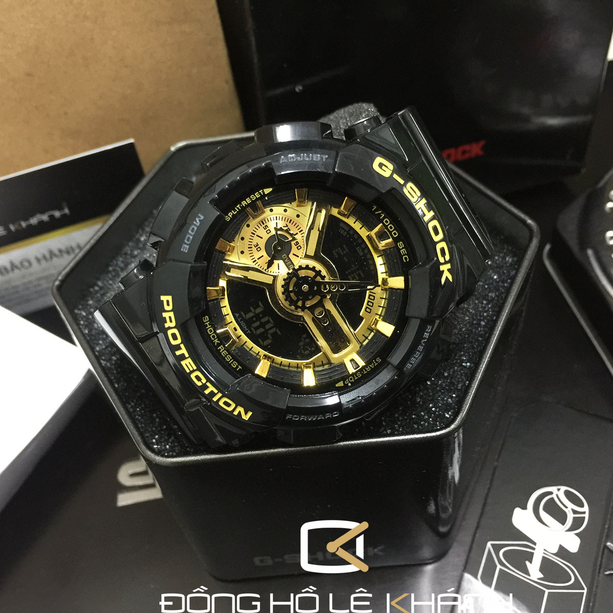 g shock ga-110gb hàng fake 1